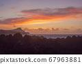 Lava stones on the beach of Piscinas Naturais Biscoitos. Atlantic Ocean. Terceira Azores, Portugal. 67963881