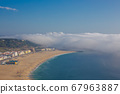 beautiful seaside resort of Nazare in Portugal 67963887