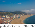 beautiful seaside resort of Nazare in Portugal 67963892