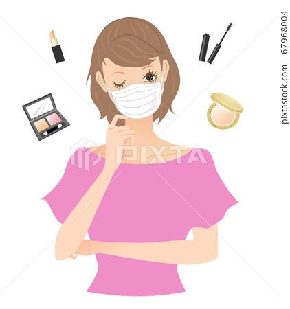 面膜化妝(擔心) 67968004