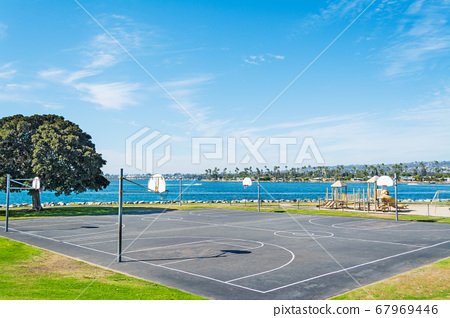 Basketball courts in Mission Bay 67969446