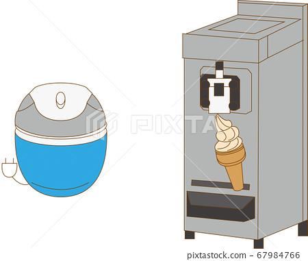Ice cream maker 67984766
