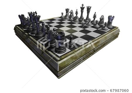Chess (CG: transparent material) 67987060
