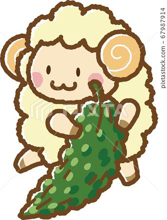 羊和苦瓜 67987914