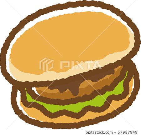 Croquette bread 67987949