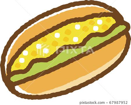 Egg dog 67987952