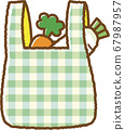 녹색 에코 가방 (쇼핑 후) 67987957