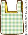 녹색 에코 가방 67987961