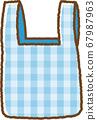 藍色環保袋 67987963