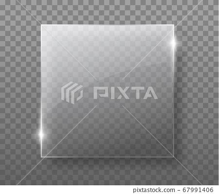 29 glass transparent plate 67991406