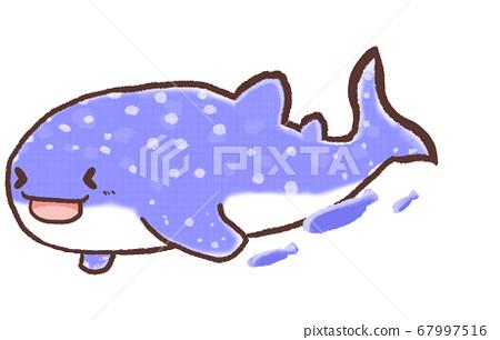 R: Cute fairy tale aquarium whale shark 3 67997516