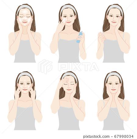 婦女做皮膚護理一套 67998034