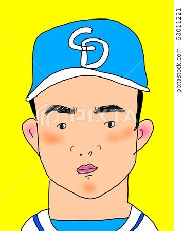 baseball player 68011221