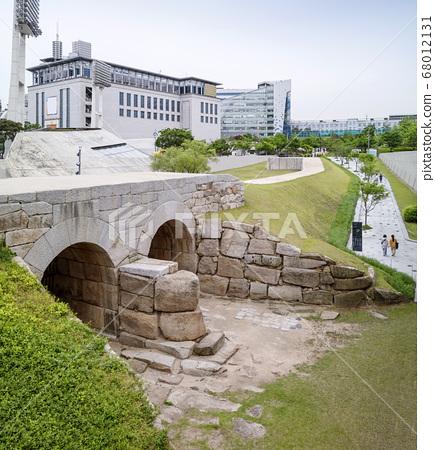 이간수문,서울성곽,한양도성,중구,서울시 68012131