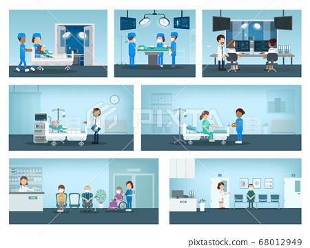 Set of surgery processes 68012949