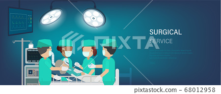 Surgical service banner 68012958