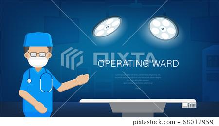 Operating ward banner 68012959