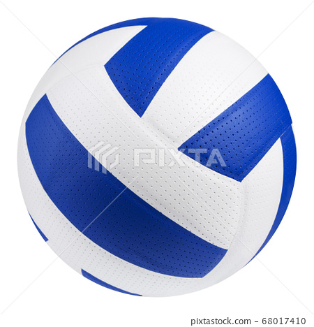 leather volleyball, white color combined with 68017410