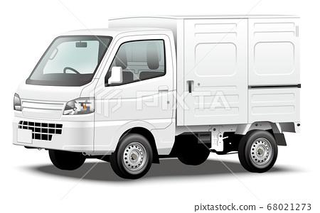 商用車插圖輕型汽車輕型卡車輕型面板麵包車原始設計 68021273
