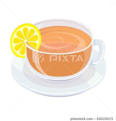檸檬茶的插圖 68026025