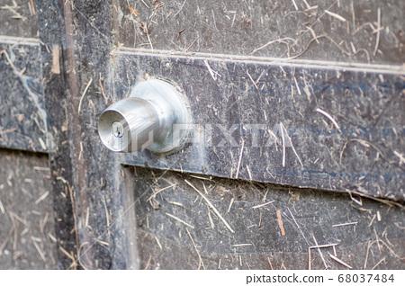 Metal doorknob 68037484