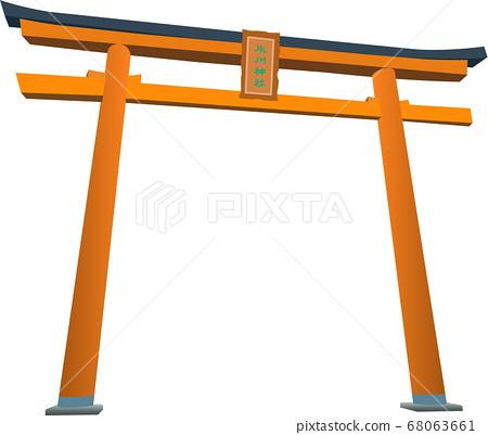 Kawagoe Hikawa Shrine Torii 68063661