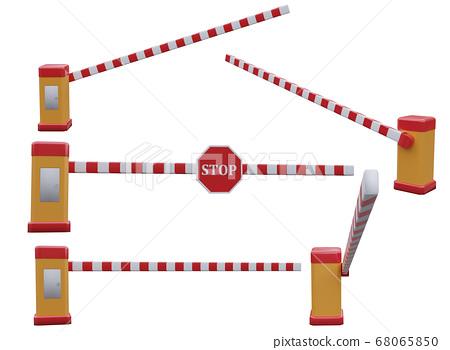 parking car barrier 68065850