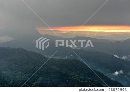 山上風景-新竹,台灣 68073948