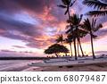 Hawaiian Sunset (Kahanamoku Beach) 68079487