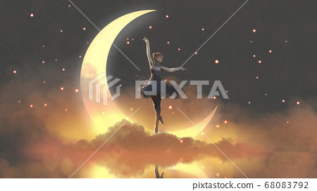 ballerina of the crescent moon 68083792