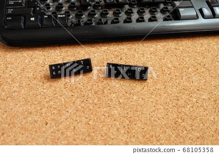 使用鍵盤按鍵創建單詞 68105358