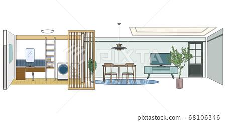衛生和室內裝飾 68106346