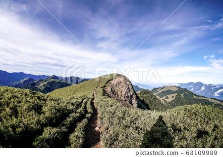 台湾的百岳合欢山 68109989