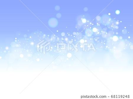 블루 크리스마스 반짝이 68119248