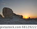 이집트 바하리아사막 백사막 68129222
