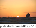 이집트 바하리아사막 백사막 68129223
