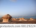 이집트 바하리아사막 백사막 68129224