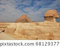 이집트 기자지구 피라미드 스핑크스 68129377