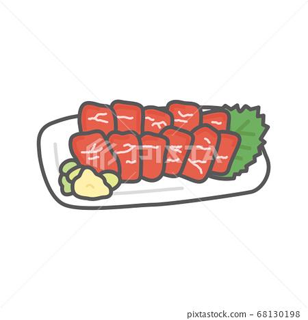 """熊本的當地美食""""馬刺身"""" 68130198"""