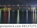 城島橋[神奈川縣三浦市]夏夜[在中心附近] 68137275