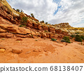 Beautiful landscape along the Cassidy Arch Trail 68138407
