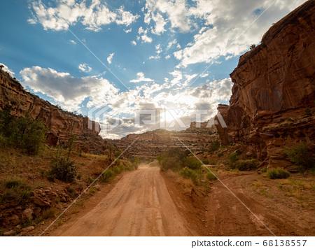 Beautiful landsacpe along the Capitol Gorge Road 68138557