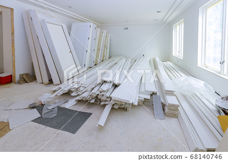 A interior wooden doors a wait installation for 68140746