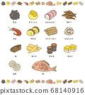新年菜餚設置 68140916