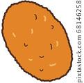 炸肉餅 68146258