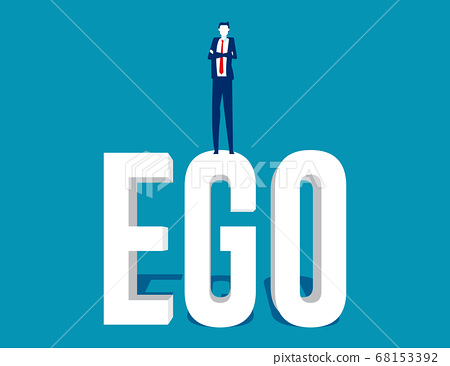 Business people with high ego and are showing 68153392
