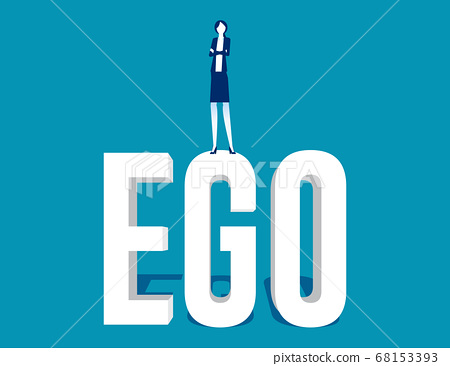 Business people with high ego and are showing 68153393