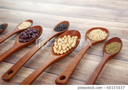 穀物,豆類,穀物 68155837