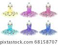Ballet tutu costume stage 68158707