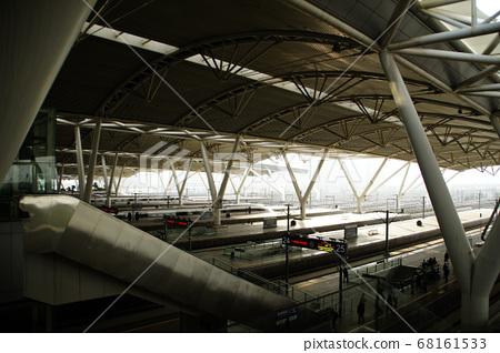高铁站月台-广州南站 68161533